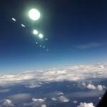 In aereo da Munich