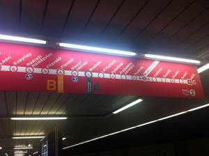 """Praga - Underground """"C"""" Line"""